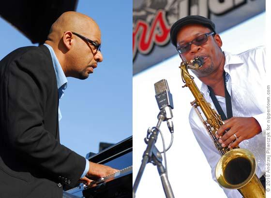 Luis Perdomo and Ravi Coltrane