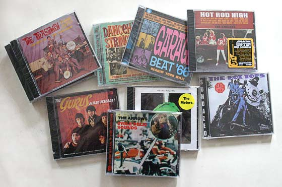 Set of 10 CDs from Sundazed Records