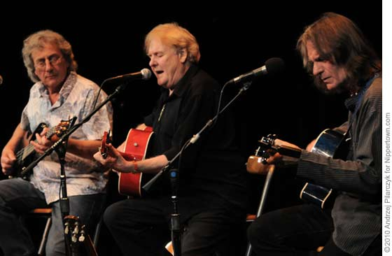 The Strawbs: Chris Cronk, Dave Cousins and Dave Lambert