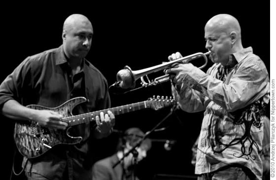 Bernie Williams and Don Harris