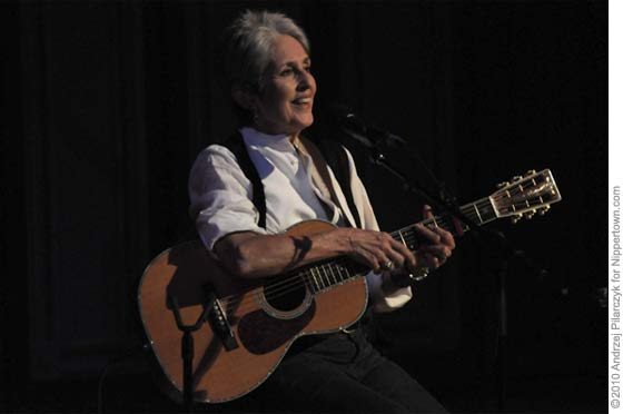 Joan Baez @ Troy Savings Bank Music Hall