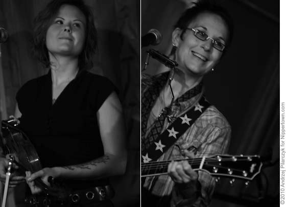 Tania Elizabeth and Mary Gauthier