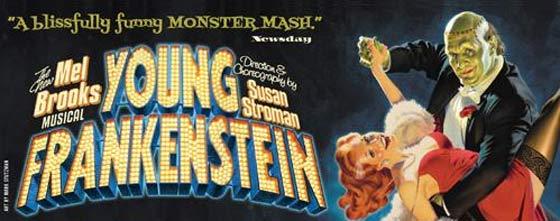 Young Frankenstein @ Proctors Theatre, Schenectady