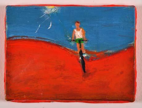 Katherine Bradford @ John Davis Gallery