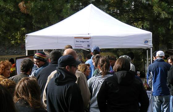 The longest line at Chowderfest