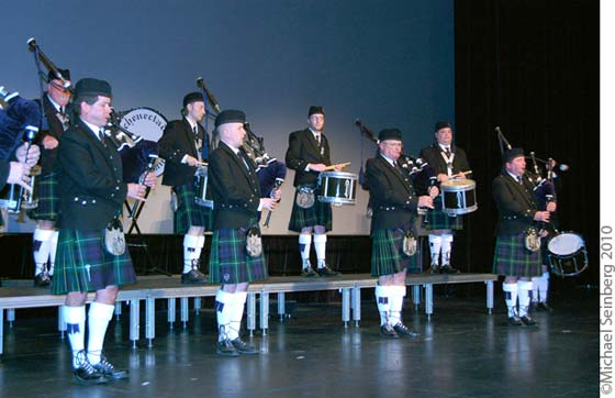 The Schenectady Pipe Band