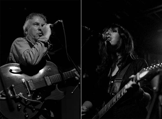 Wreckless Eric and Amy Rigby (photo by Jason Lehr)