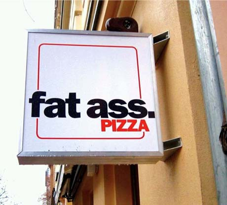 Signs of the City: Fat Ass Pizza, Berlin