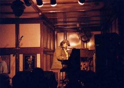 Dr. John performing at Pauly's Hotel in the 80's