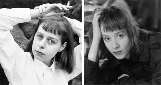 Carson McCullers (left) and Suzanne Vega
