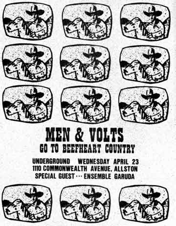 Men & Volts original poster