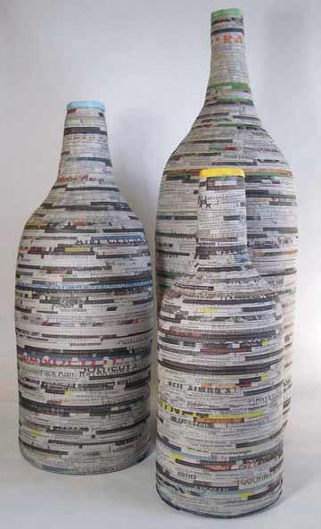 Juis Aleman & Jeffrey Moore: News Vases @ GCCA Catskill Gallery