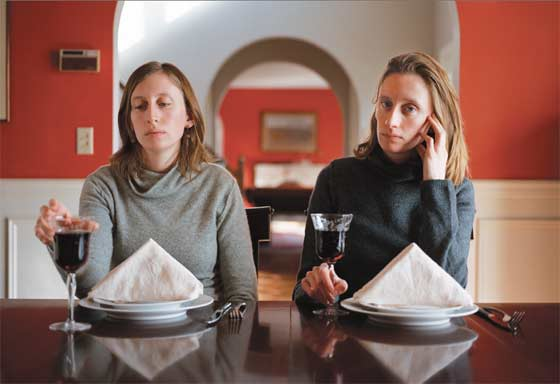 Carrie Will: Rikki and Carrie, Dining-Room @ Yates Gallery