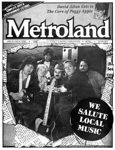 Metroland Local Music Issue 1985
