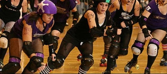The Albany All Stars Roller Derby League