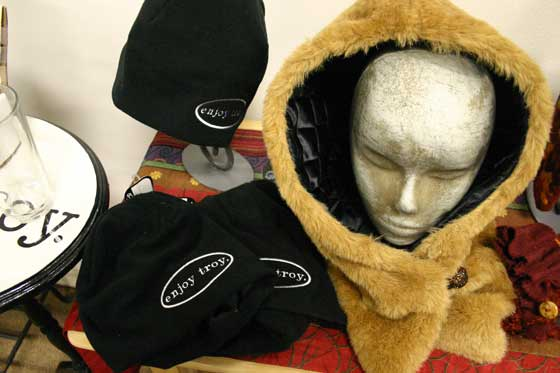 Cold weather headgear at ArtCentric Gift Gallery