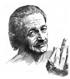 Charlie Musselwhite (illustration by Charles Haymes)