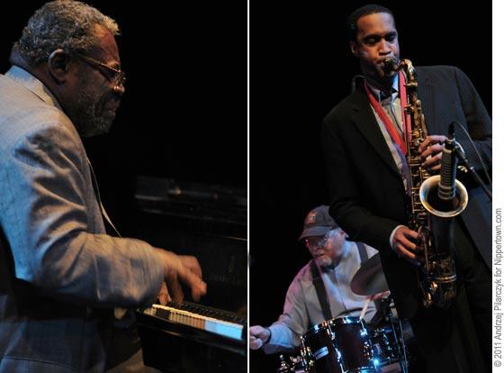 Larry Willis, Jimmy Cobb and Javon Jackson