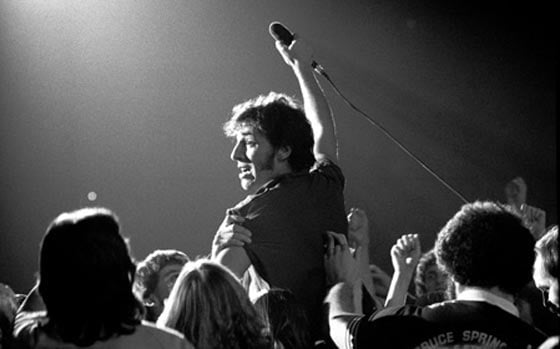 Bruce Springsteen photographed by Patrick Harbron