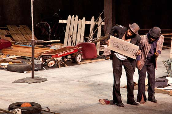 Waiting For Godot (photo by Michael Zirkle)