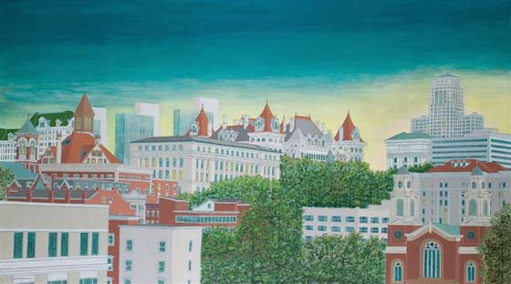David Hinchen: Albany Skyline @ The Stockade Inn
