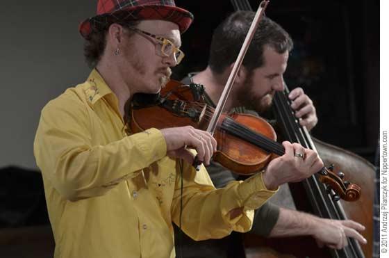 Casey Driessen and Greg Garrison
