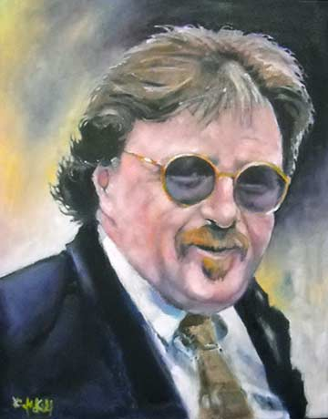 Painting of John Wisniewski by Kevin McKrell