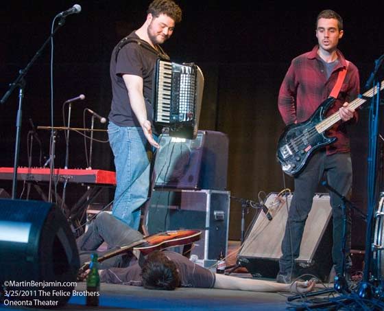The Felice Brothers at the Oneonta Theater