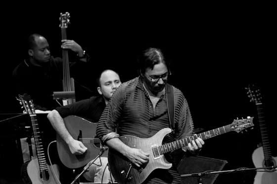 Victor Miranda, Kevin Seddiki and Al Di Meola