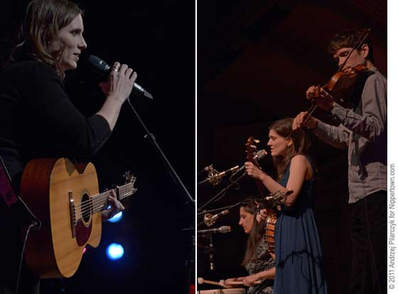 Rose Cousins (left) and The Wailin' Jennys
