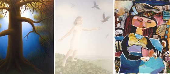 Works by Laura Von Rosk, Leslie Anderson and Sylvie Kantorovitz @ Clement Art Gallery