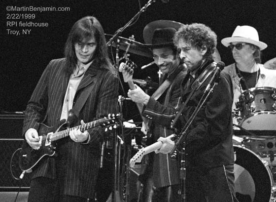 Bob Dylan @ RPI Field House, Troy, 2/22/1999