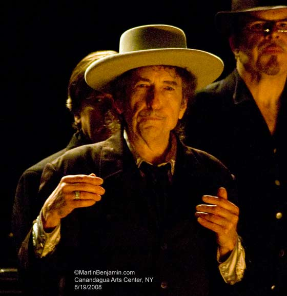 Bob Dylan @ Canandaigua Arts Center, 8/19/2008