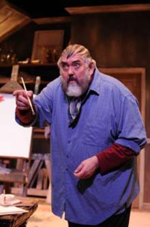 `Jim Brochu as Zero Mostel (photo by Stan Barouh)