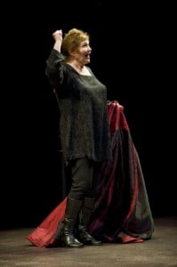 "Tina Packer in ""Women of Will: The Complete Journey"" at Shakespeare & Company. 2010 Photo: Kevin Sprague"