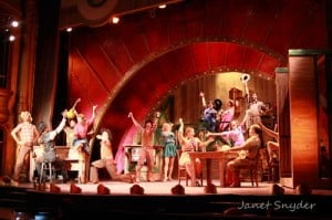 "The cast of C-R Productions ""Crazy for You"" on just one iteration of Jen Price Fick's smashing set. Photo: Janet Snyder"