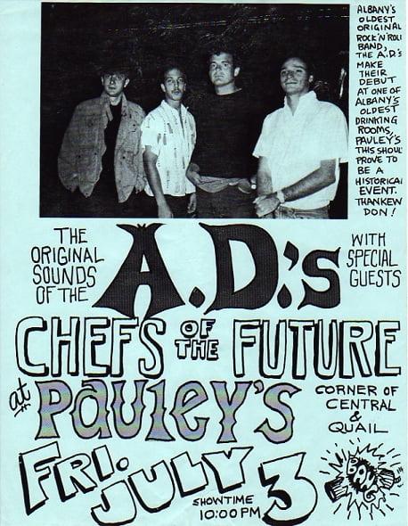1987 A.D.'s Poster