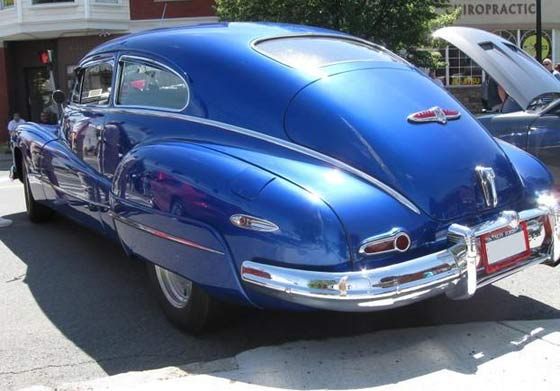 Miles would drive this, if he was feeling blue