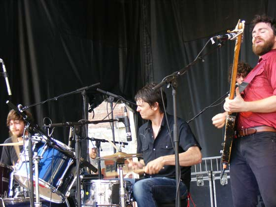 Liam Finn and Glenn Kotche