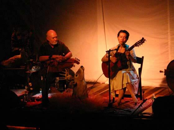 Rob Caldwell and Yukari Roja