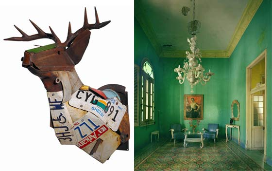 Gordon Chandler: GA-TN-AR-TX Buckhead (left) and Michael Eastman: Portrait, Havana @ Ferrin Gallery