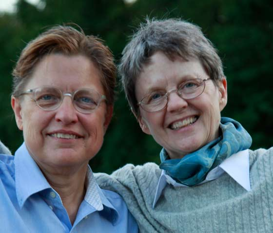 Linda Mussmann and Claudia Bruce