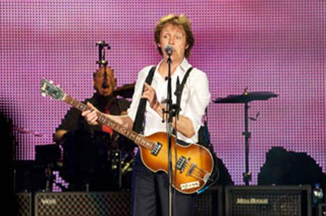 Paul McCartney @ Yankee Stadium (photo by Rick Bedrosian)