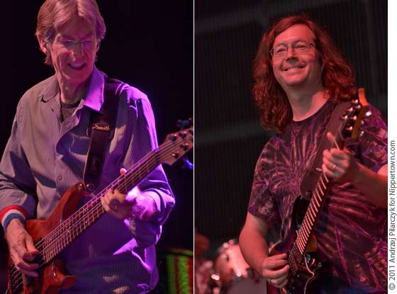 Phil Lesh and John Kadlecik