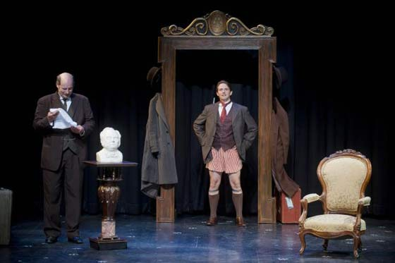 Sir Henry (Winkles) loses his trousers...again. (photo: Kevin Sprague)