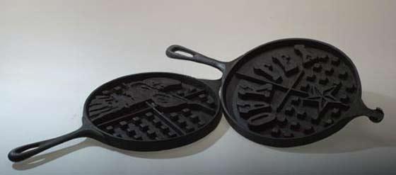 Annie Oakley waffle iron
