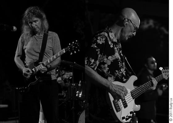 David Malachowski and Tony Levin