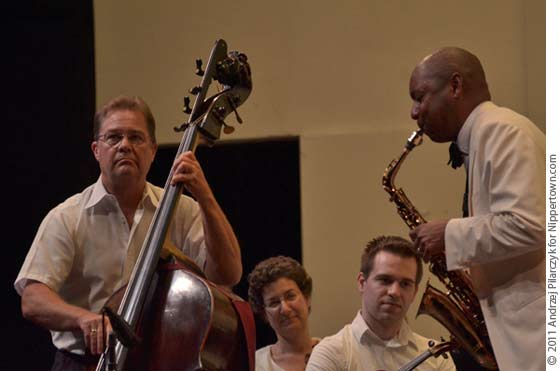 Harold Robinson and Branford Marsalis