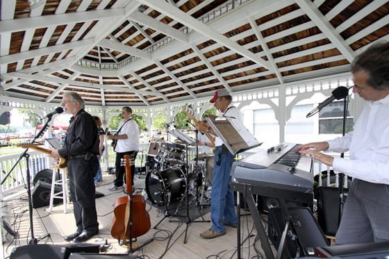 The Marty Wendell Band in the Gazebo