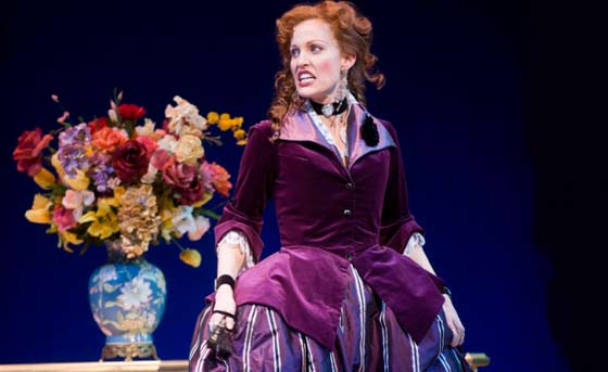 "Rachel York as The Marquise in ""The Game"" (photo by Kevin Sprague)"
